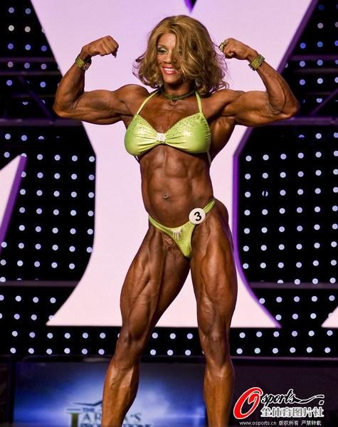 2012年美国女子健美奥林匹亚赛总决赛