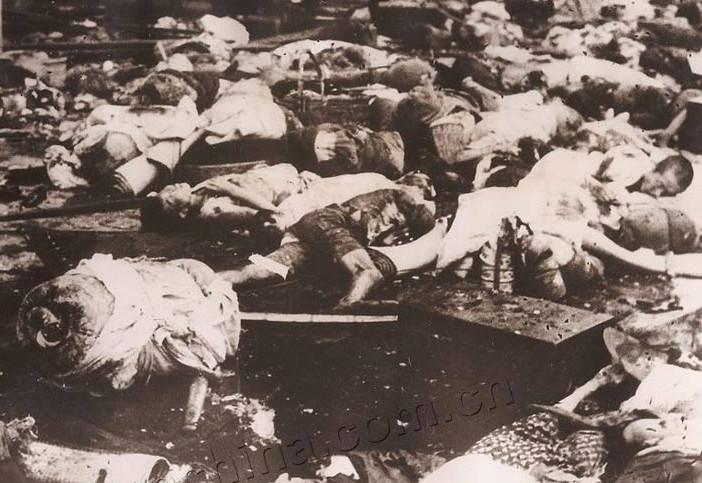 淞沪会战 惨烈 1937年/1937年淞沪会战惨烈照