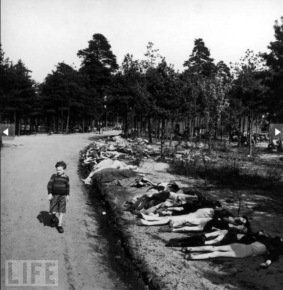 悲惨!二战时的苦难儿童