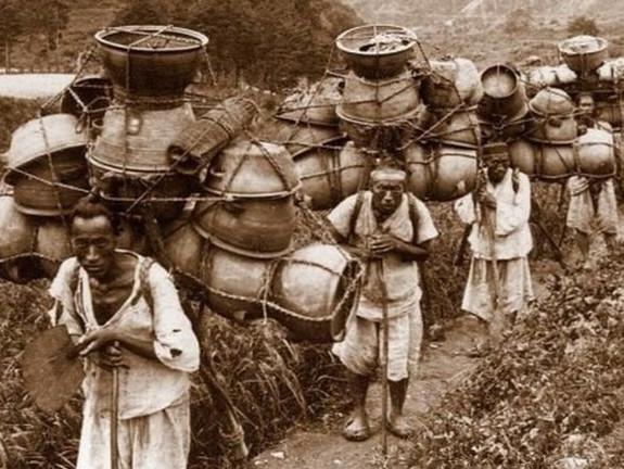 百年前朝鲜平民生活照