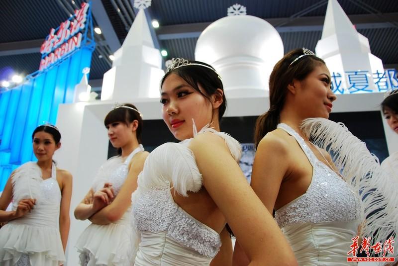 哈尔滨的美女模特
