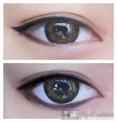 六大眼型分类 各种眼线画法大全