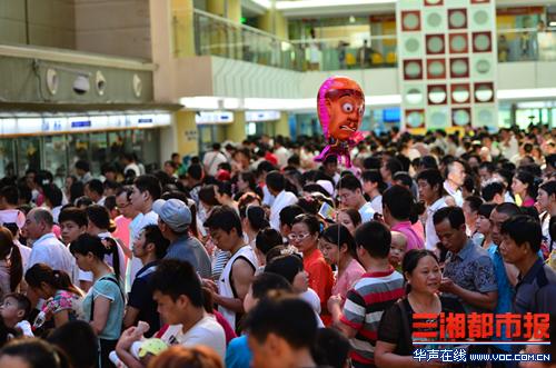 湖南省儿童医院迎来今年暑期学生就诊