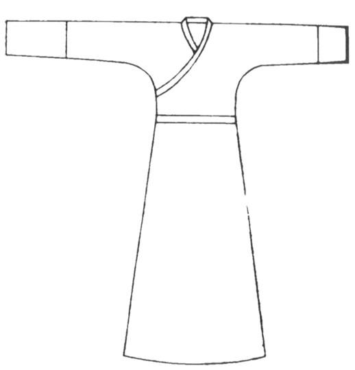 古代皇后服装简笔画求步骤