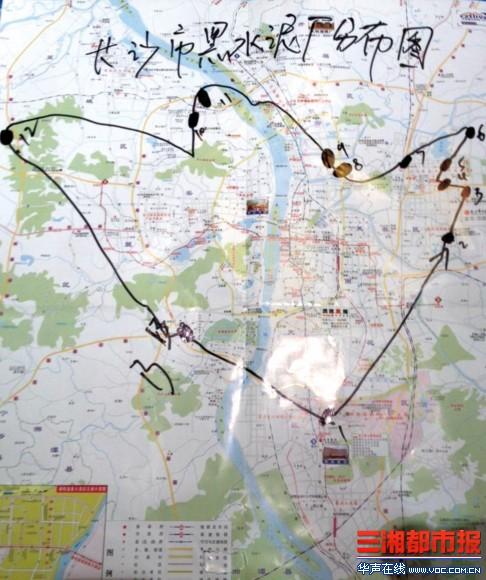 白沙万街道地图