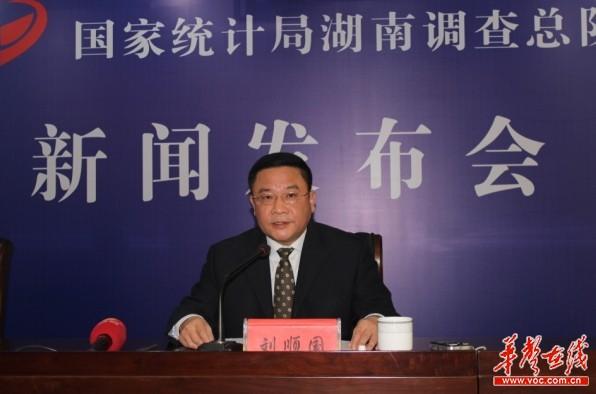 2015年度湖南国家统计调查数据情况新闻发布会