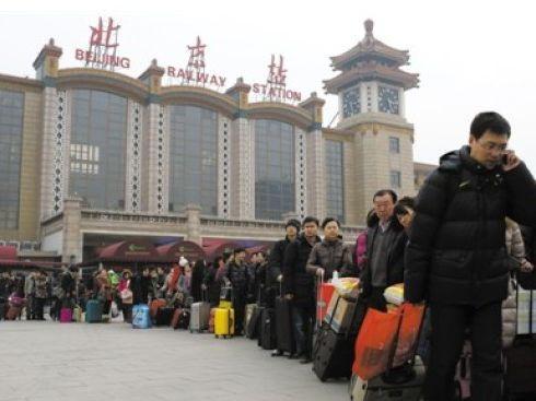 年后铁路首轮返京高峰今日来临 预计将达27万人