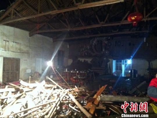 浙江磐安婚礼现场坍塌事故死亡人数上升至9人