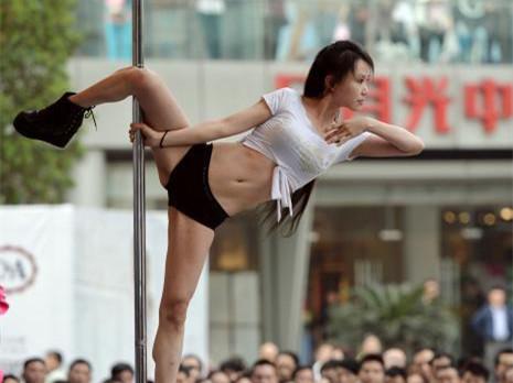 重庆钢管舞比赛 宣扬健康生活态度与情色无关