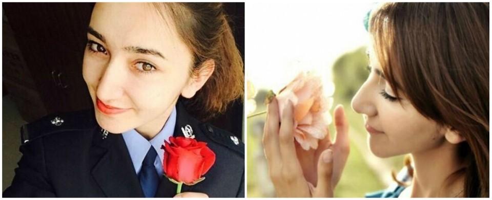 新疆反恐前线美女特警走红网络