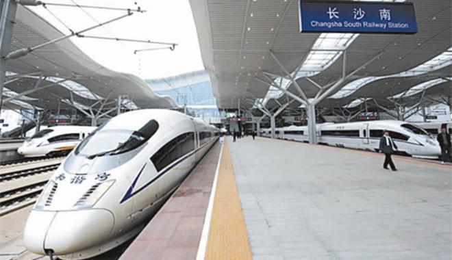 2014年高铁能带长沙人去哪里?