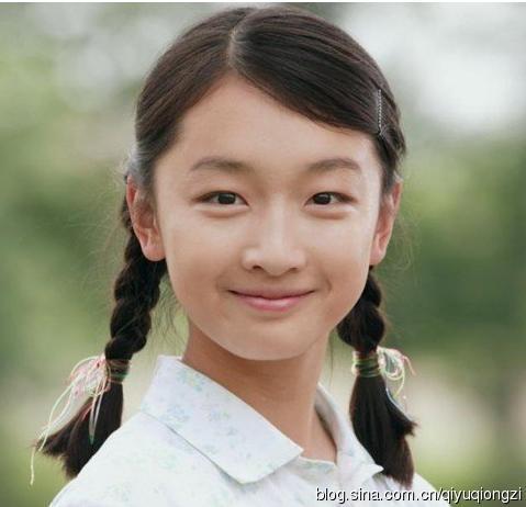 赵薇高圆圆周冬雨 盘点最美最清纯的麻花辫子女星