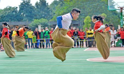 袋鼠运动会跳ppt素材