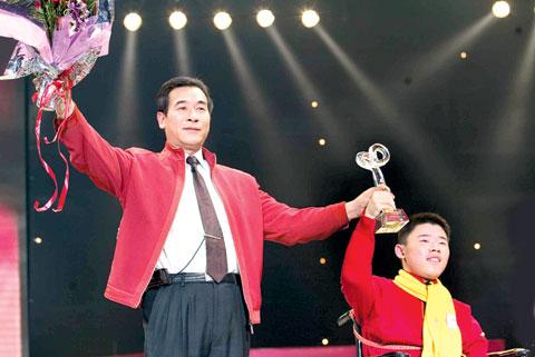 2006感动中国年度人物黄舸