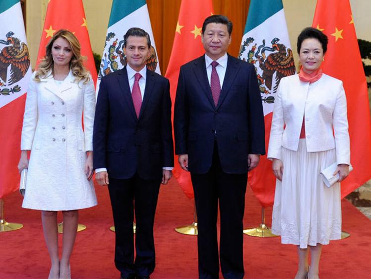 习近平同墨西哥总统培尼亚举行会谈