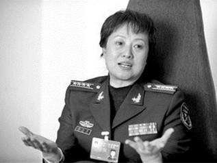 解放军女少将高小燕因贪落马 曾因体育特长被特招入伍