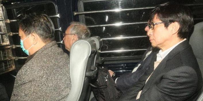 香港特区政府前政务司司长许仕仁因贪腐被判入狱7年半