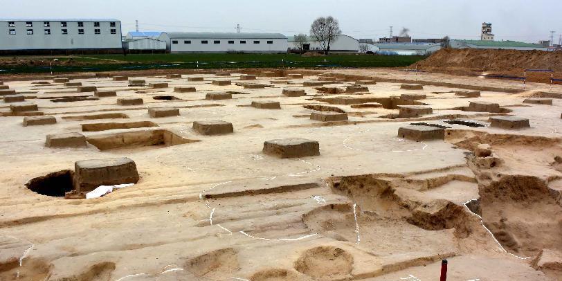 """考古发现""""城套城"""" 为夏商周研究添新资"""