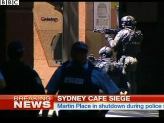 悉尼市中心发生人质劫持事件