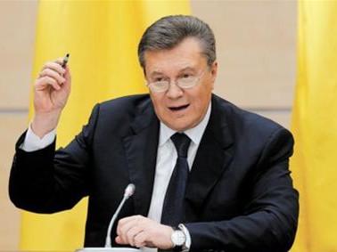 乌前总统被通缉:被指侵吞数百亿美元资产 马桶用镀金装潢