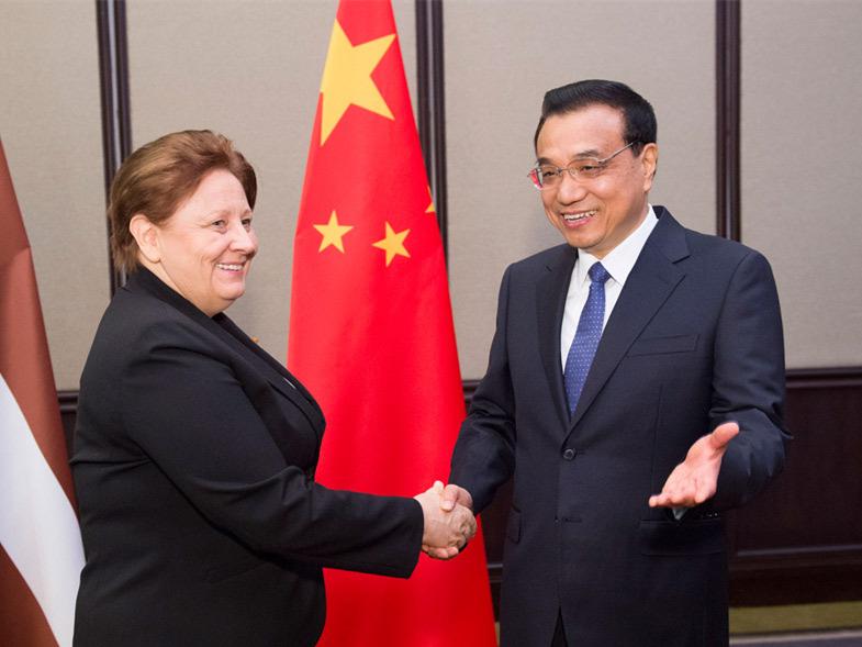 李克强出访哈萨克斯坦等国 会见多国政要