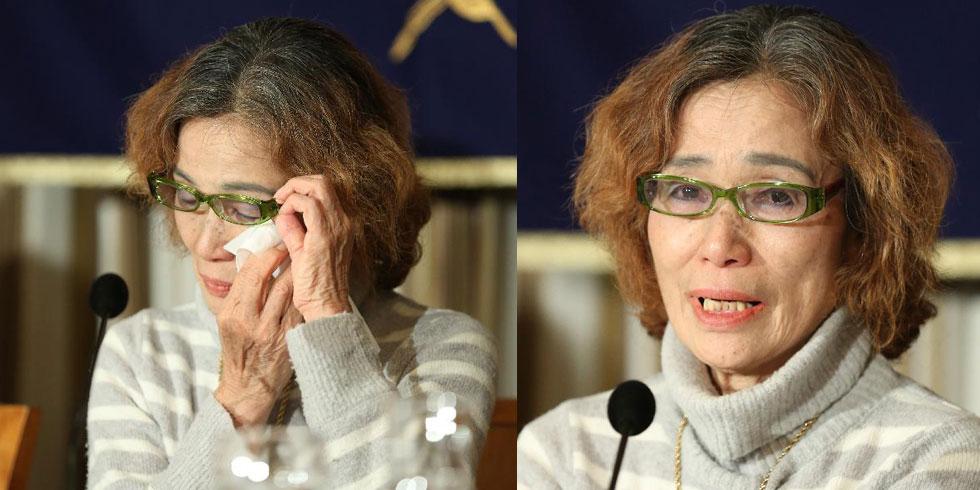 """后藤健二母亲呼吁""""伊斯兰国""""释放其子"""