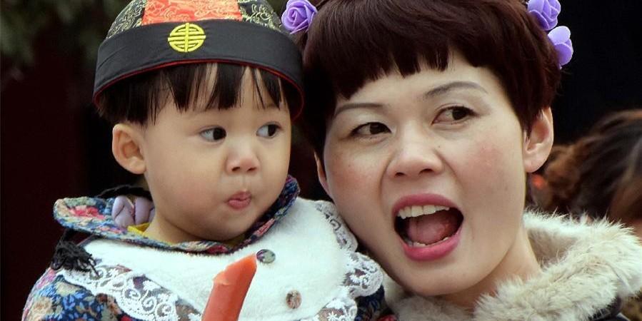 中国人的春节表情