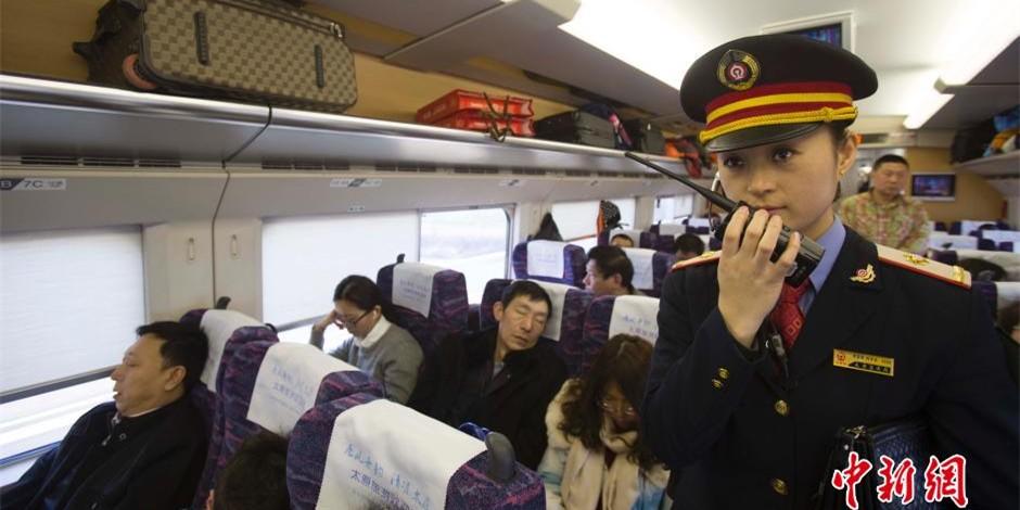 图片故事:平凡列车长的一天
