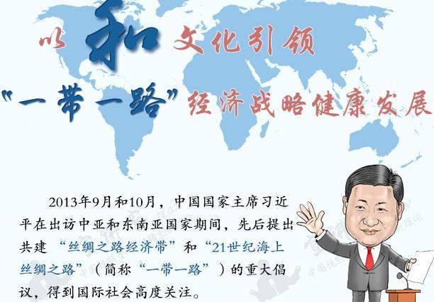 """宣讲家网图解理论:以""""和""""文化引领""""一带一路""""经济战略发展"""