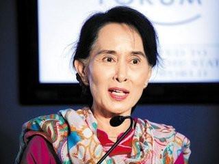 缅甸女神昂山素季:被软禁15年 丈夫成竞选总统最大障碍