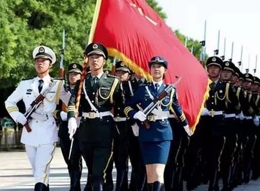 我的名片:中国三军仪仗队