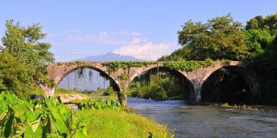 永州东安现400余年明代石拱桥