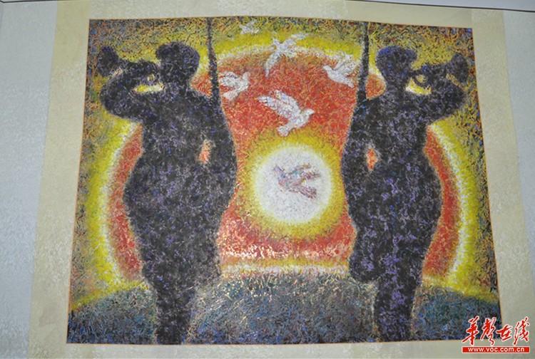 胜利抗战70周年图画_童心向党纪念抗战胜利70周年少儿绘画大赛圆