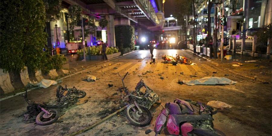 泰国曼谷发生爆炸已致22人死亡 嫌犯锁定