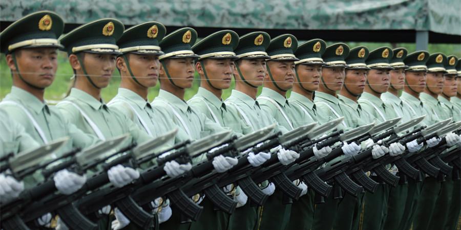 """""""9・3""""阅兵部队官兵京郊集训"""