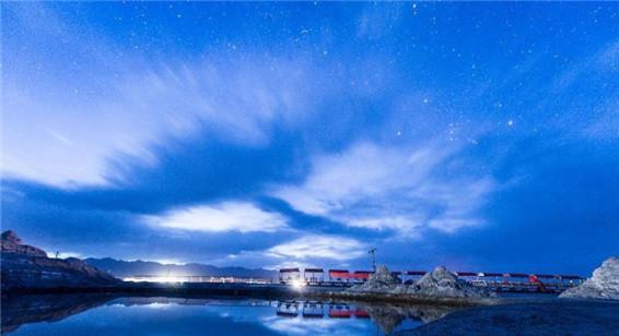 """中国的""""天空之镜""""――茶卡盐湖"""
