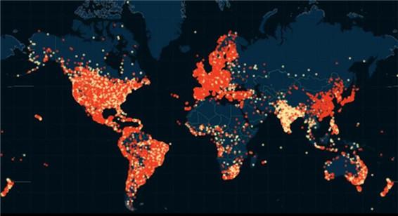 全球最大婚外情网站泄密资料被绘成出轨地图