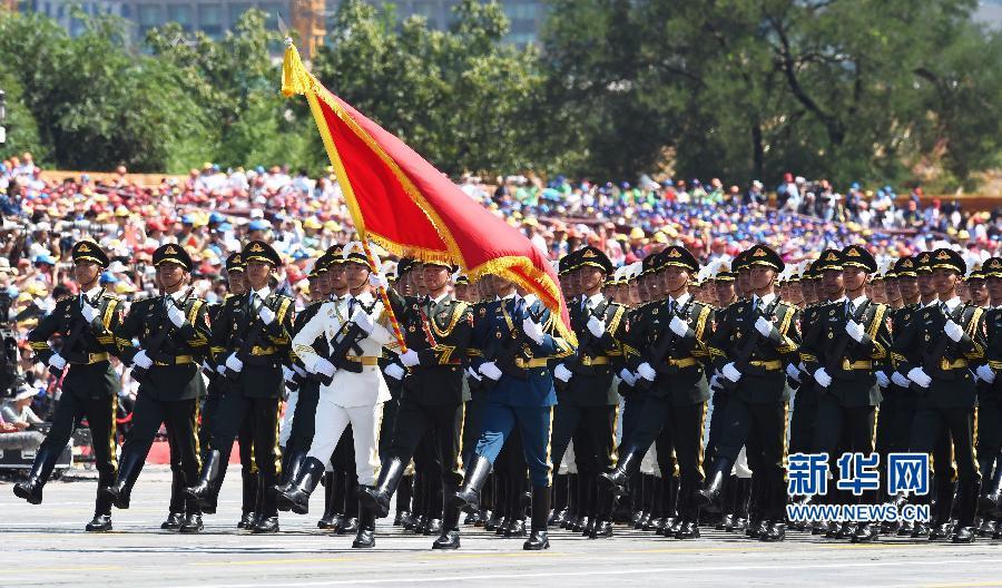 抗战胜利70周年大阅兵全程回顾