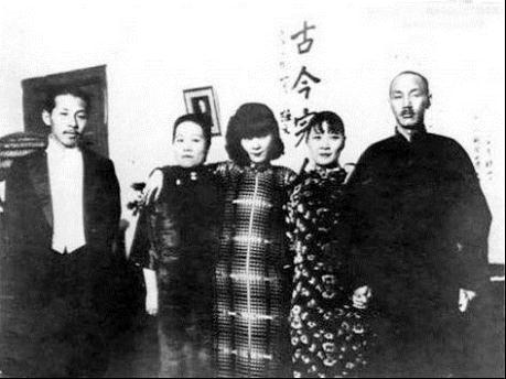蒋介石与结拜把子们