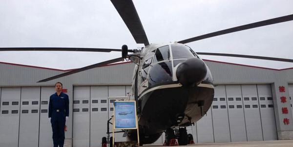 武警湖南总队直升机大队首批直升机列装