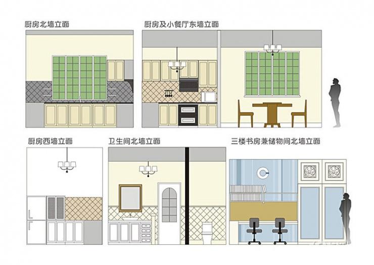 左右有邻居房屋设计图