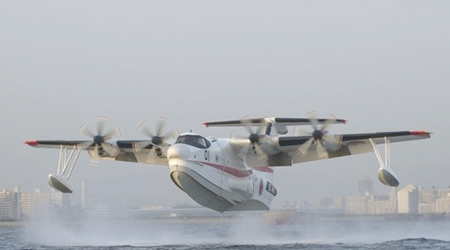 """水上飞机""""US-2""""。"""