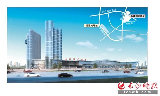 长沙新汽车南站开工 比现有站场扩容近10倍/图