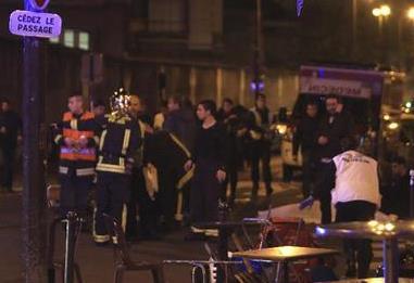 巴黎遇难人数上升197人 亲历者:剧场瞬间被血洗