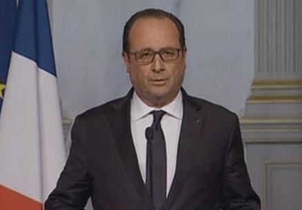 巴黎袭击后 法国总统奥朗德的4小时