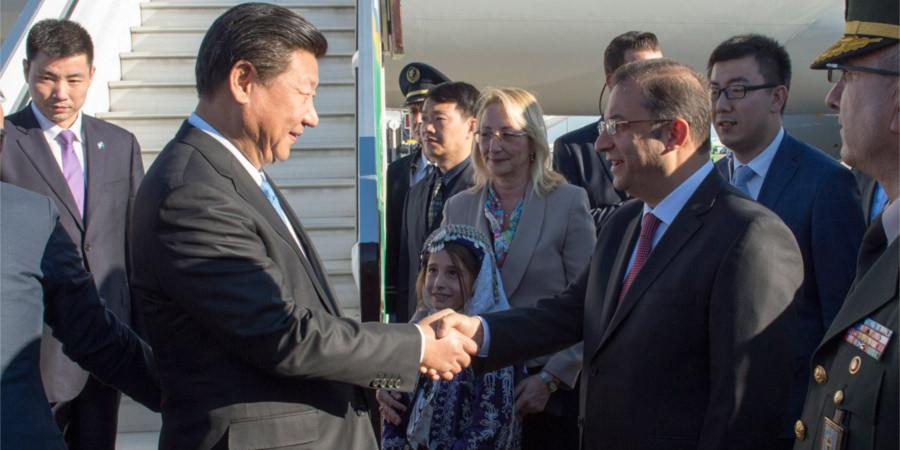 习近平抵达土耳其安塔利亚出席二十国集团领导人第十次峰会
