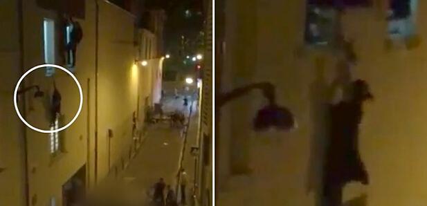 巴黎恐袭中的温情:陌生男子英勇救下孕妇