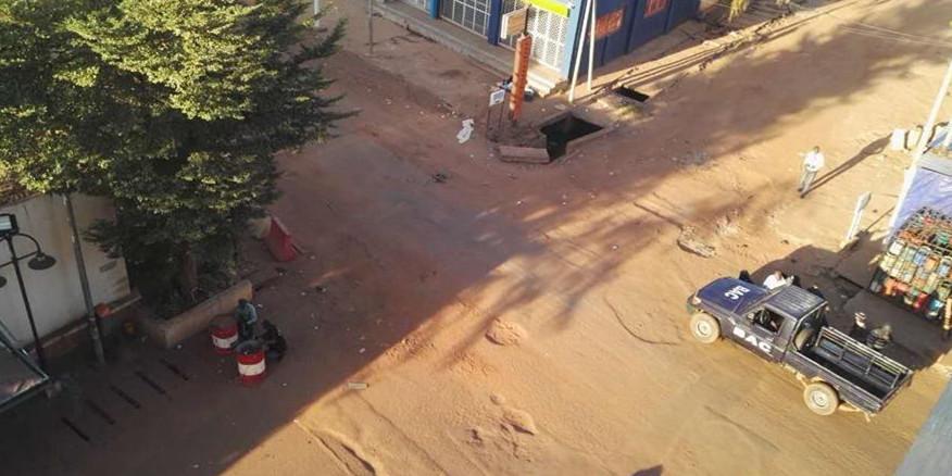 马里首都巴马科市中心酒店发生枪战