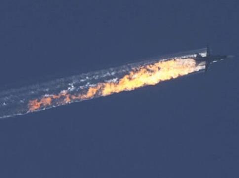 土耳其军方称击落俄战机 在叙利亚境内坠毁