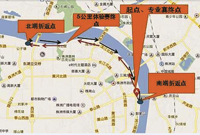 株洲迎春马拉松邀请赛线路图确定 明日截止报名